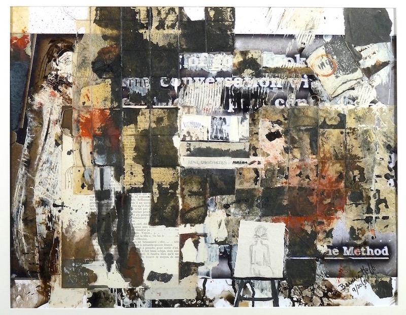 Library Walk XXV – Descartes – 16 x 20