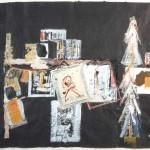 Les Bouquinistes - Paris 1 - 18 x 23 - Mixed Media on Paper