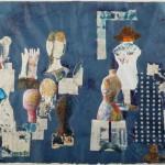 Mannequin Shop - Paris III - 22 x 28 - Mixed Media on Paper
