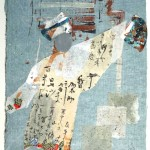 Japonisme X - 18 x 13 - Mixed Media on Paper
