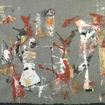 La Danse 18 X 22 - Mixed Media on Paper