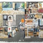 Les Bouquinistes III - Paris - 22 x 26 - Mixed Media on Paper