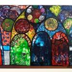 Mosaic XIII - Le Vitrail - 18 x 24 - Photage